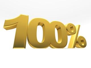 Porcentaje 100