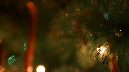 Christmas Lights Bokeh 2 4K