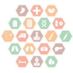 vector medical icon illustration, medicin