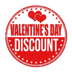 Valentines Day discount stamp