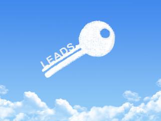 Key to leads cloud shape