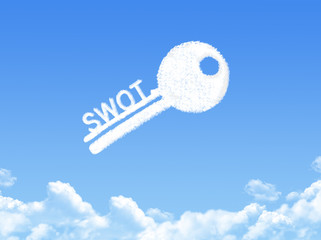 Key to swot cloud shape
