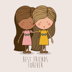 Friends design,vector illustration.