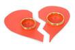 Ring On Broken Heart - 76181414