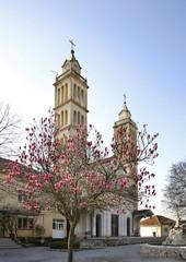 Catholic Church in Tuzi. Montenegro