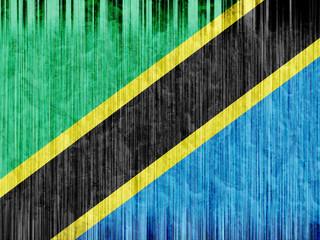 Tanzania flag paper texture