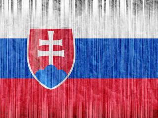 Slovakia flag paper texture