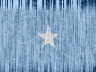 Somalia flag paper texture