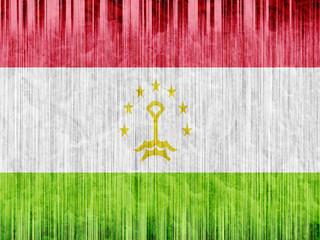 Tajikistan flag paper texture