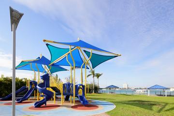 Modern play ground park
