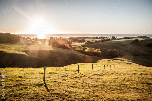 Keuken foto achterwand Nieuw Zeeland New Zealand sunrise