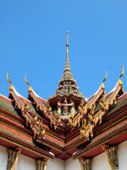 Roof gable in Thai style