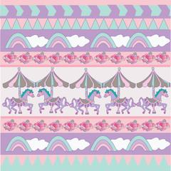 sweet pastel pattern