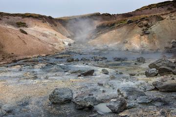 Hochtemperaturgebiet Krýsuvík - Seltún