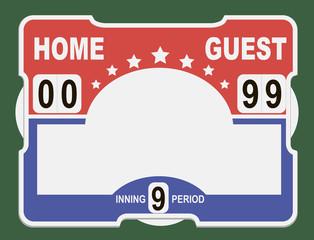 Softball Scoreboard