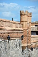 City wall of Toledo, Spain