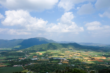 沖縄県 石垣島 南の島の展望台からの眺め