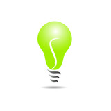 Vector sign energy efficient light bulb
