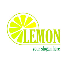 Vector sign Lemon