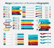 Zdjęcia na płótnie, fototapety, obrazy : Infographic Templates for Business Vector Illustration.