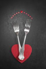 Valentines dinner.