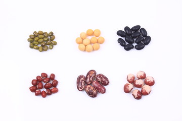 A variety of beans group