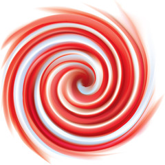 Pink and white candy cane sweet spiral backdrop