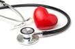 Leinwanddruck Bild - Herz Vorsorge Untersuchung