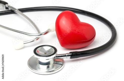 Leinwanddruck Bild Herz Vorsorge Untersuchung