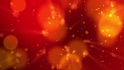Christmas Snowflakes 01 - Red