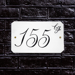 house number 155