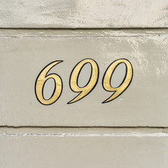 house number 699
