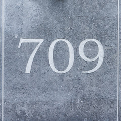 house number 709