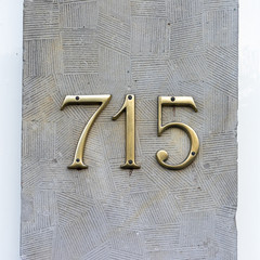 house number 715