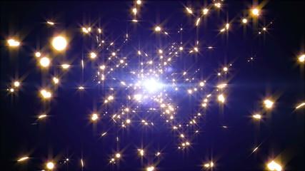 ループする星の輝き