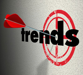 Trends Words Target Wall Fad Bulls-Eye Current Popular Product