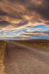 Sunset at Dunnet Head