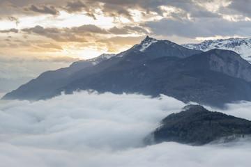 Rhone valley - Switzerland.
