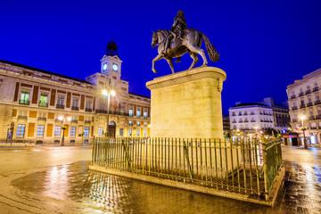 Madrid, Spain at Puerta del Sol