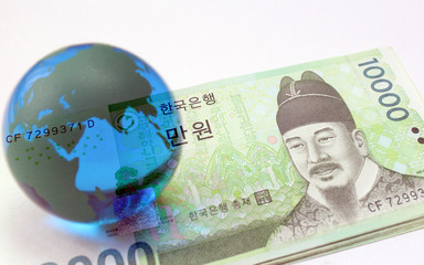 金融イメージ 韓国 ウォン