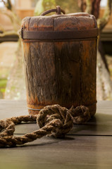 Japanese wooden sinker