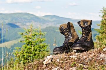 black jungle boots