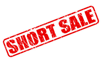 Short sale red stamp text