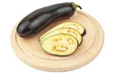 cut eggplant