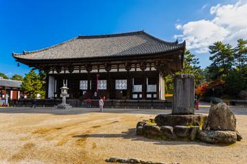 Kofuku-ji wooden tower in Nara, Japan.