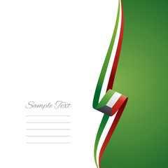 Kuwait right side brochure cover vector