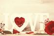 canvas print picture - Love