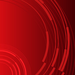 red background business presentation booklet cover