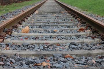 unendliche Schienengleise