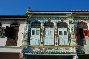 Heritage building in Malacca, Malaysia
